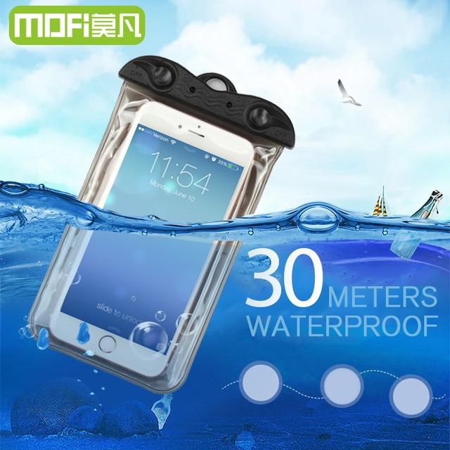 new style 7af0d df9ff Universal oneplus 3 waterproof case bag MOFi original three bag pouch  xiaomi huawei oneplus 5 underwater proof bag p10 lite