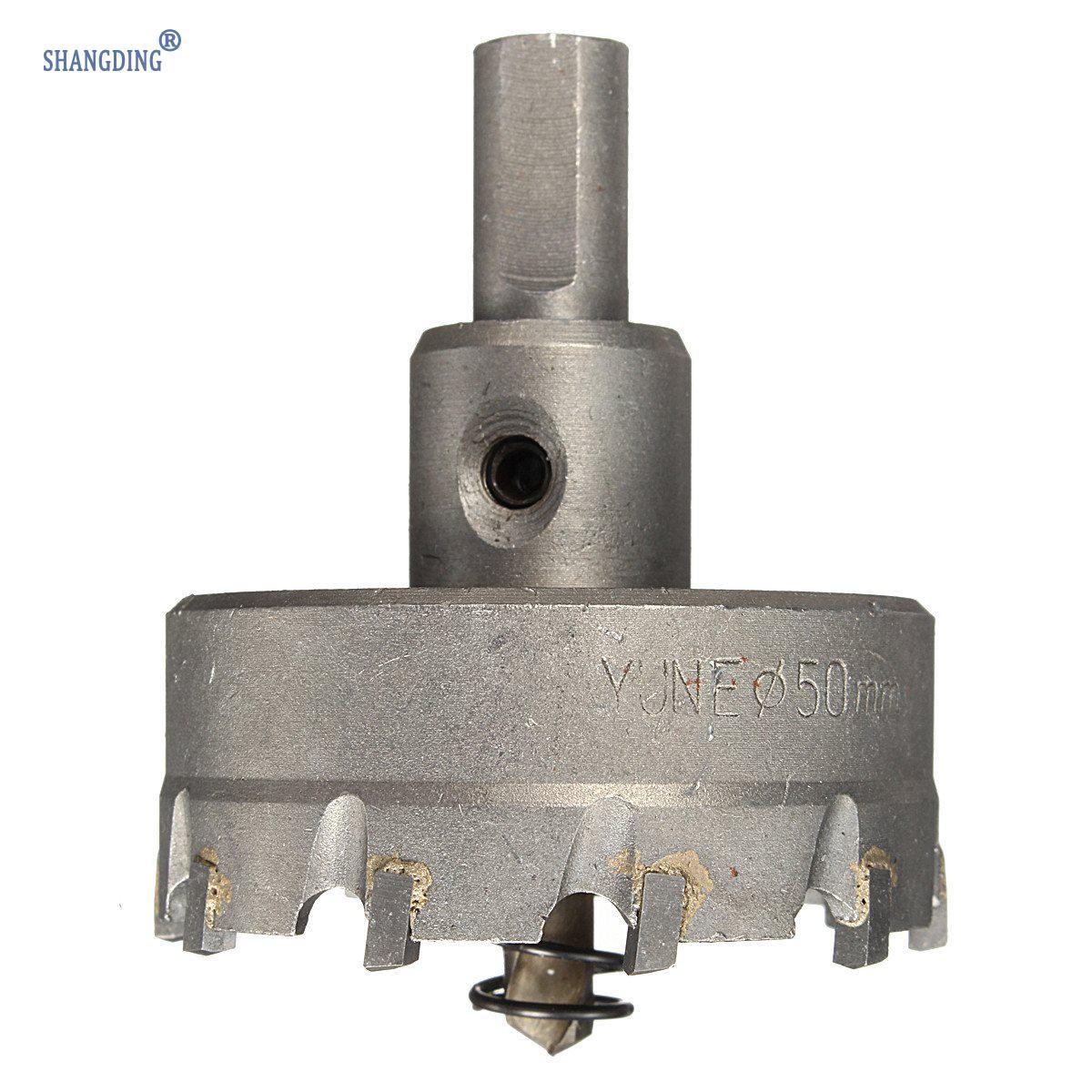 1 Set 48mm Carbide Tip TCT Boor Metalen Gatenzaag met Spanner - Boor - Foto 2