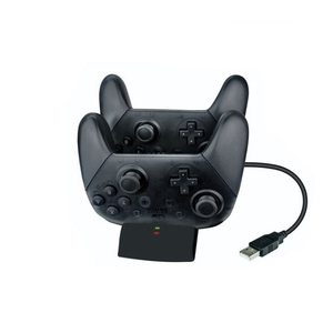 Image 4 - Fast Charger Double Charging Dock Station Port Base For Switch Pro Wireless Bluetooth Controller