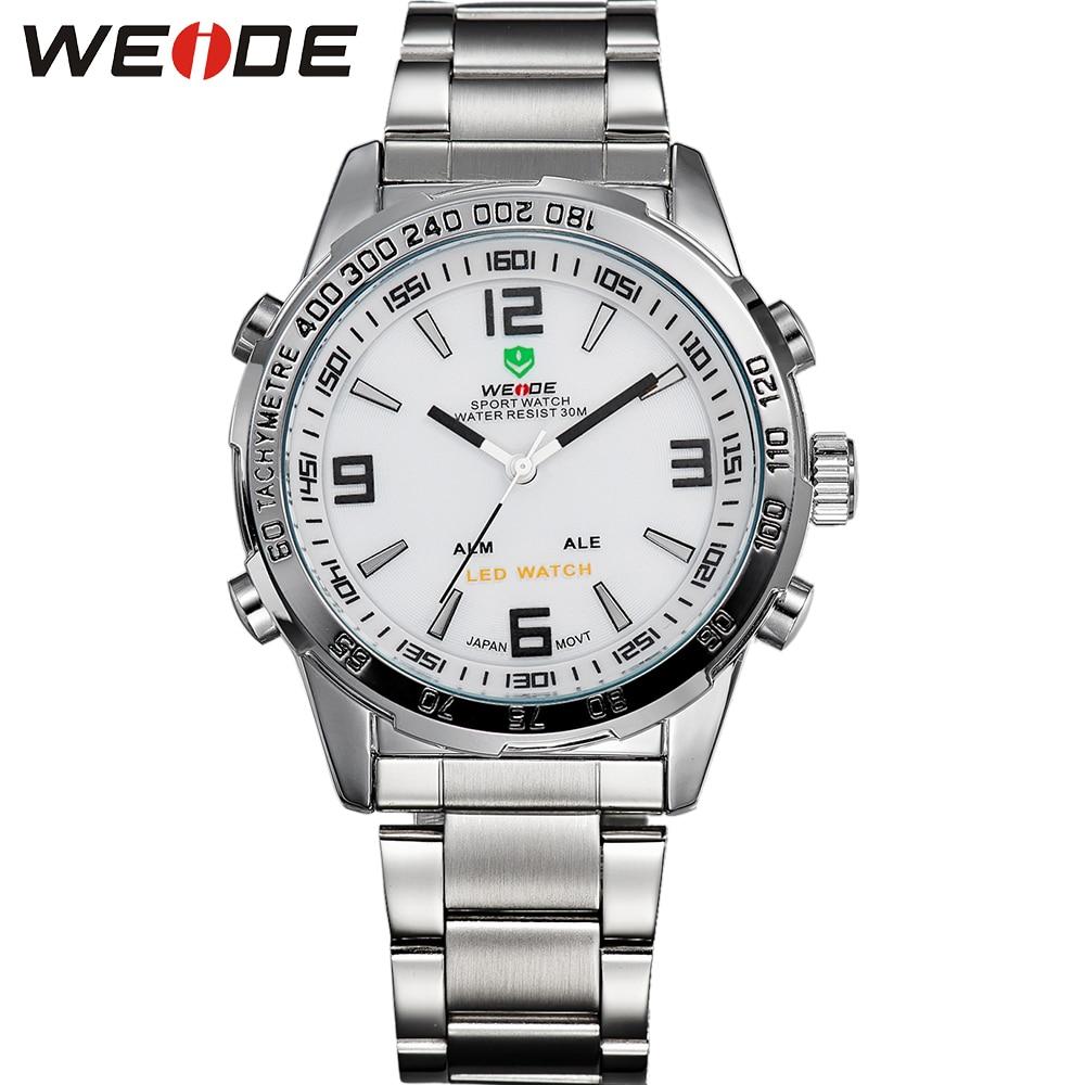 30 meter waterbestendig analoge militaire horloges mannen volledig - Herenhorloges