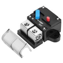 150A Car Truck Car Audio Circuit Breaker Amplifier Automatic Reset Fuse Holder Adapter car auto in line automatic recovery circuit breaker fuse for 12v protection 150a 200a 250a 300a
