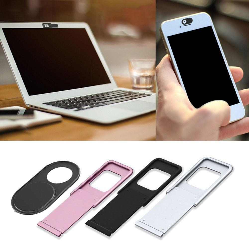 3Pcs WebCam Shutter Cover Web Camera Secure Protect your Privacy Black Lot