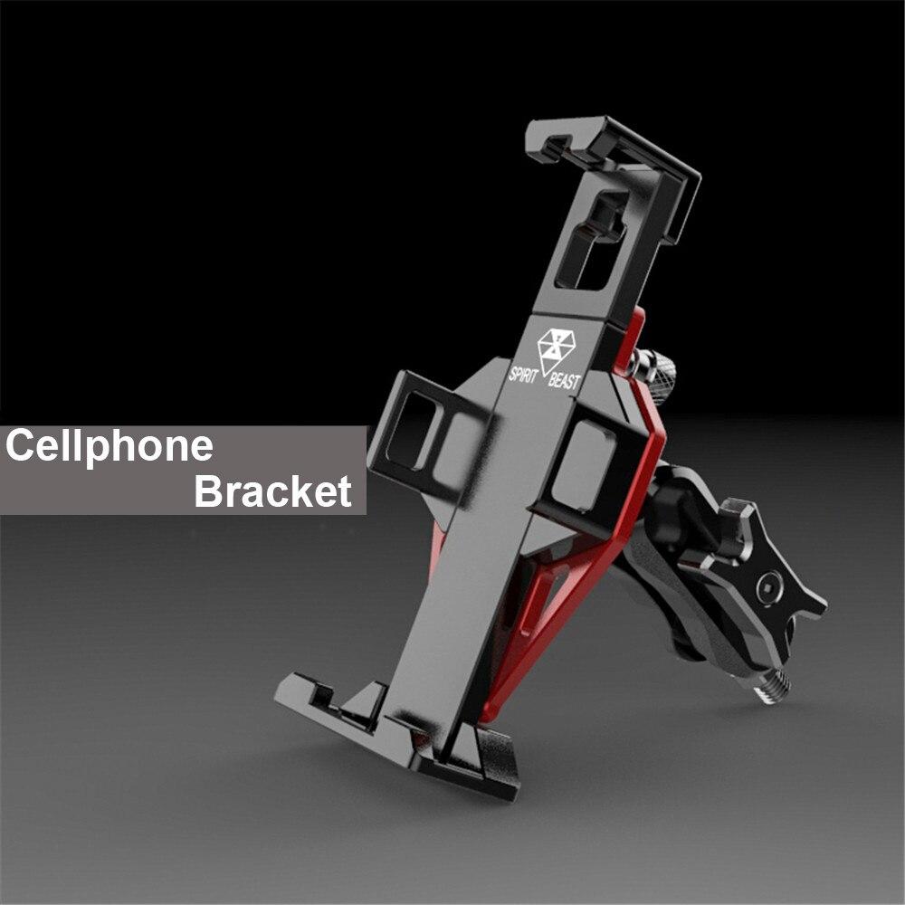 Esprit bête moto cadre de téléphone accessoires téléphone portable Support de montage voyage équipement extérieur GPS Navigation Support