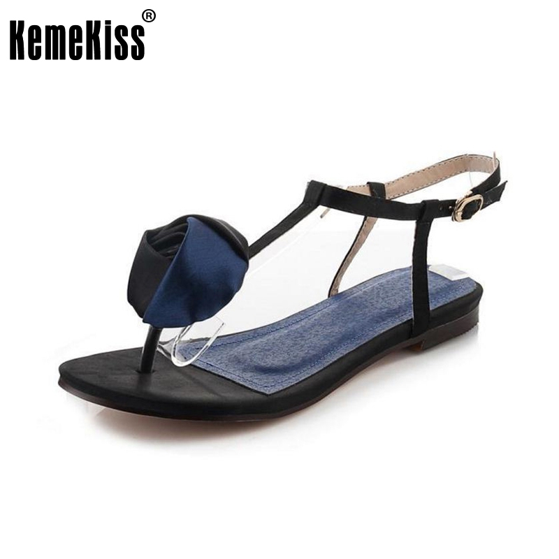 new fashion summer hot sale flower women sandals with beautiful rose fashion sandals woman shoes size 35-39 WC0099