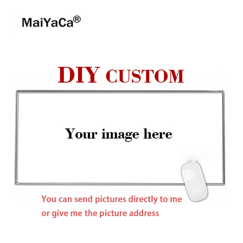 MaiYaCa Super Big DIY Personalized Custom Your Cool Image Photo Printed Gamer Gaming PC Computer Rubber Mat Rectangle Mouse Pad
