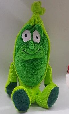 Детские мягкие игрушки детские развивающие игрушки красочные фрукты овощи 10-35 см Рождественский подарок - Цвет: Pea