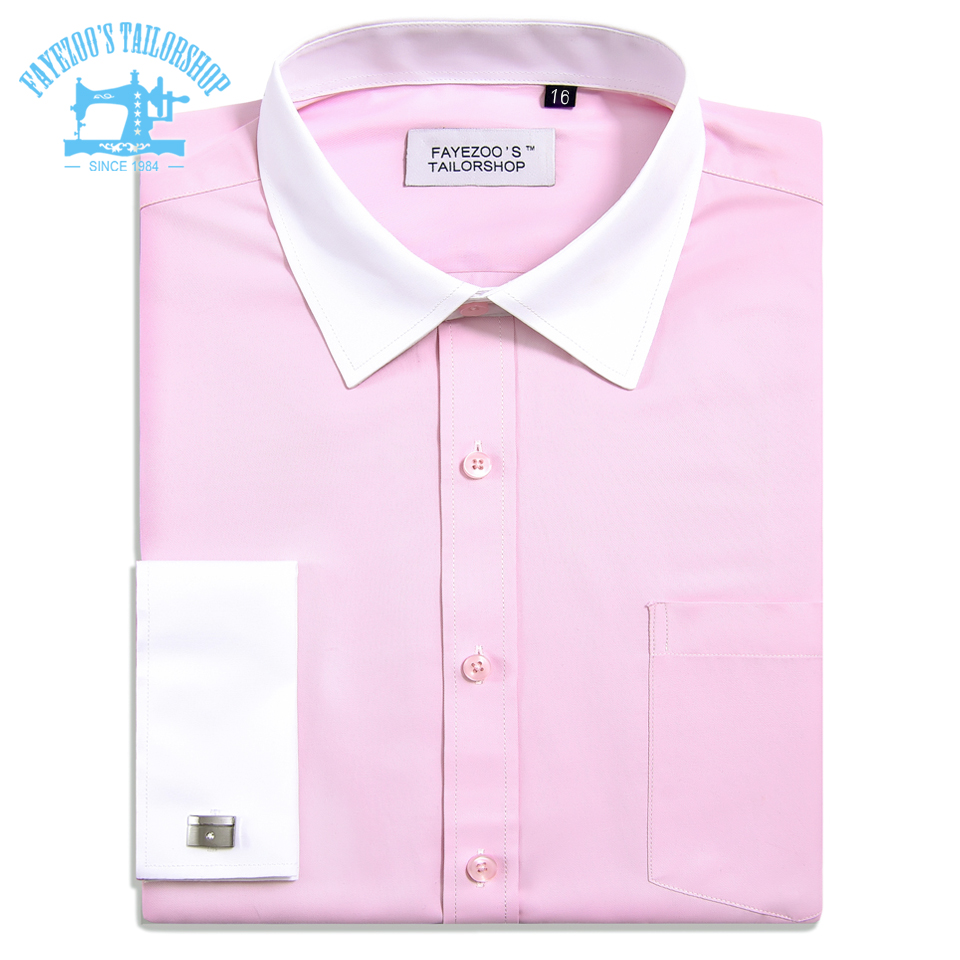 Fayezoos Extra Slim Fit Sheen Soft Non Iron Pink Formal Business