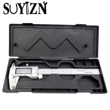 SUYIZN Metal Caliper 0-150mm / 6 Inch Digital Vernier Caliper Metal Casing Metric / Inch Measuring Tools Micrometer ZJ48