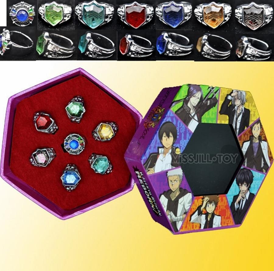 Fashion Jewelry Ring Anime Katekyo Hitman Reborn Sawada Tsunayoshi