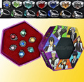 Fashion jewelry ring Anime Katekyo Hitman Reborn Sawada Tsunayoshi Cosplay Rings Vongola Rings for Men women Gift