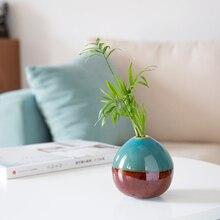 Creative Classic Ceramic Vase Mini Hydroponics plant Vases for flowers decoration home flower pot decor accessories modern