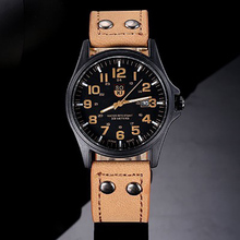 Men's watches Luxury Brand Men Military Sport Watches Quartz Clock Leather Strap Waterproof Date Wristwatch Reloj Hombre montre стоимость