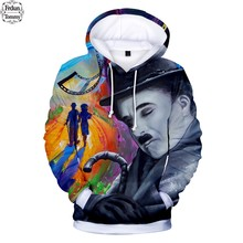 2018 Chaplin Modern Times 3D Long Hoodies Fashion Autumn Hoodies 3D Fashion  Warm Long Sleeve Popular Sweatshirts Hooded Clothes ae620390d999