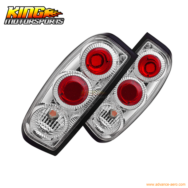 Black Tail Lights Lamps for 98-04 Frontier 99 00 01 02 03
