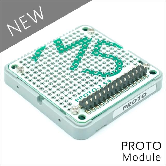 M5Stack Chính Thức Chứng Khoán Cung Cấp Proto Mô-đun Proto Board với Phần Mở Rộng & Bus Ổ Cắm đối với Arduino ESP32 Phát Triển Kit