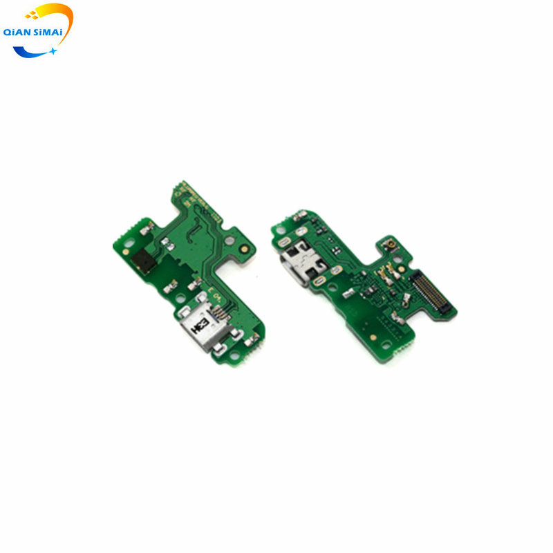 QiAN SiMAi New For Huawei Honor 8 Lite USB Charging Port Board Charger Dock Connector Flex With Mic Microphone
