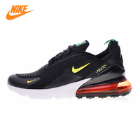 Nike Air Max 270 Men's Running Shoes, Black & Yellow/red, Shock Absorbing Breathable Lightweight AH8050 112 AH8050 111