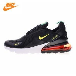 7e84312497 Nike AH8050 Air Max 270 Men's Running Shoes Black & Yellow/red Shock  Absorbing