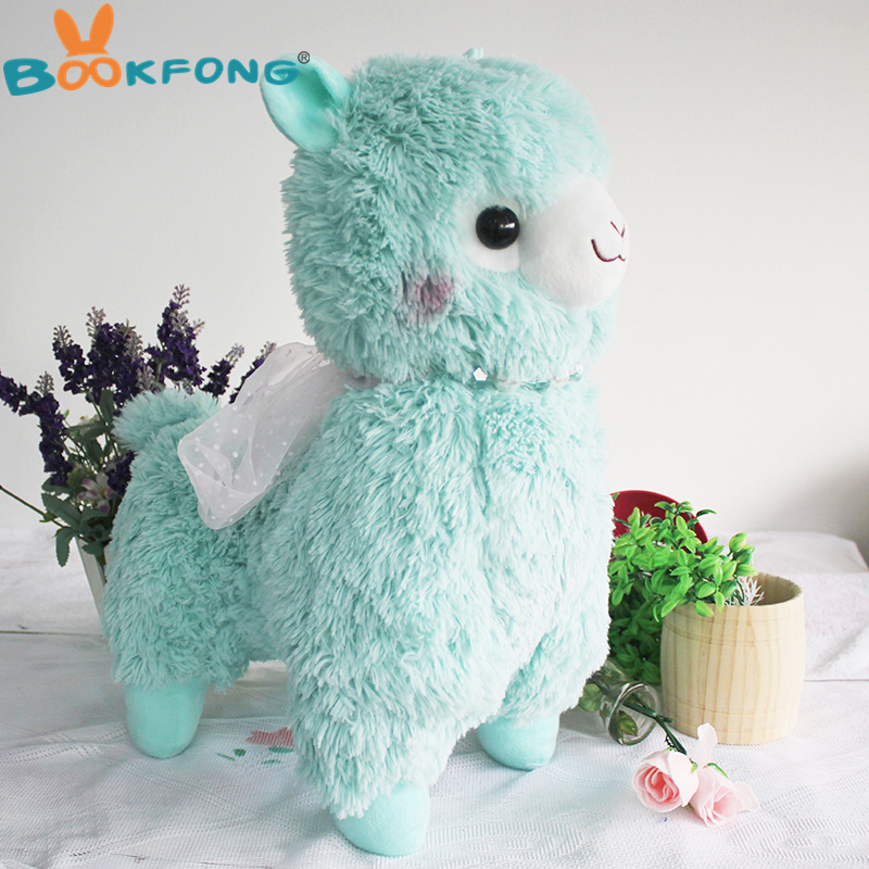soft kawaii 40cm peluche alpacasso alpaca toys pink purple white sheep stuffed animal japan plush baby kids new years gift fancytrader new style giant plush stuffed kids toys lovely rubber duck 39 100cm yellow rubber duck free shipping ft90122