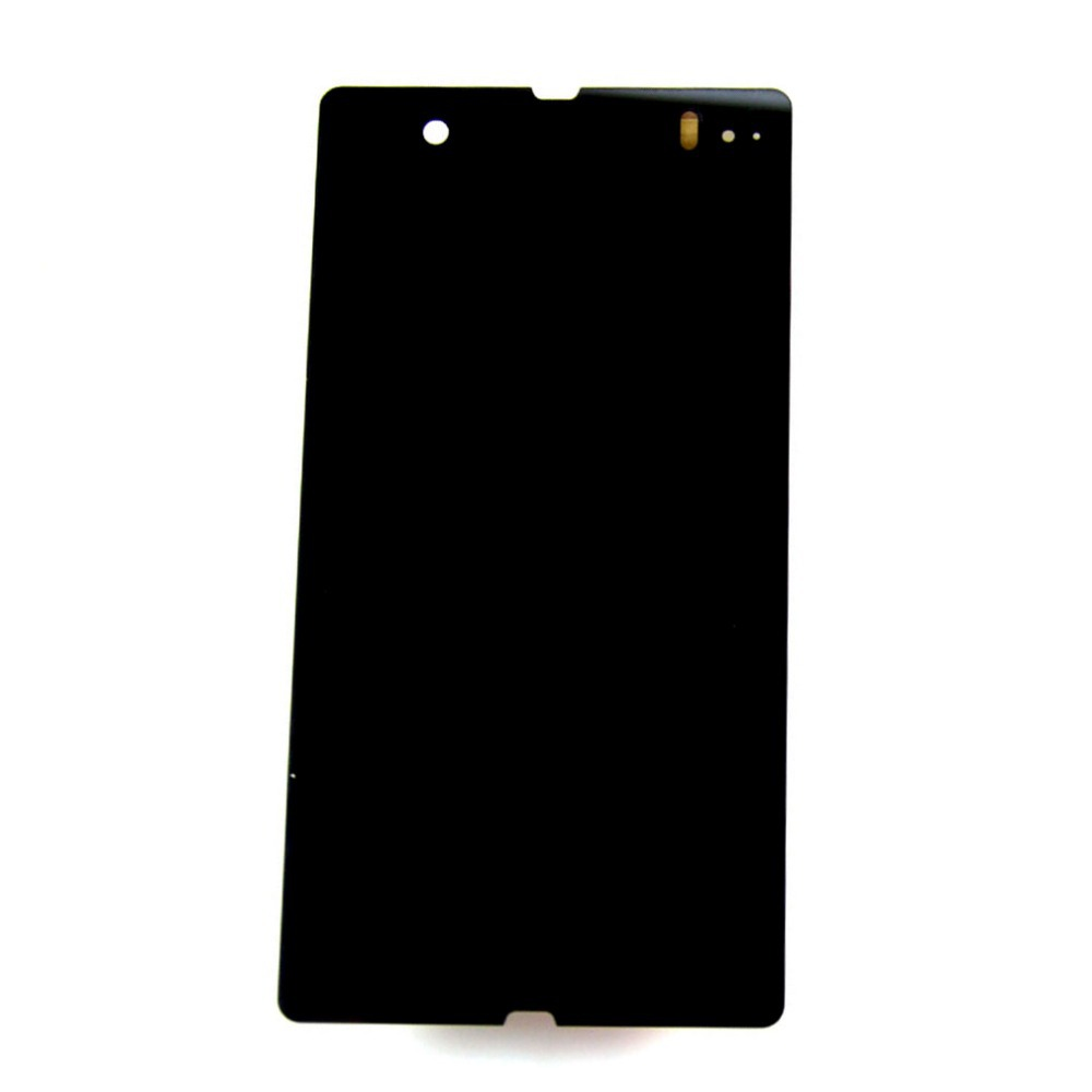 L36H C6606 LCD display Touch Screen Digitizer Assembly For Sony Xperia Z L36H C6606 C6603 C6602 ,black -parts