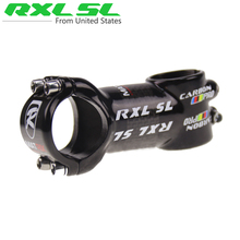 RXL SL Aluminum alloy Carbon Stems Cycling Mountain Bikes Stem Package Carbon Road Bicycles 3K Glossy Black 6 Degree Stems(China)