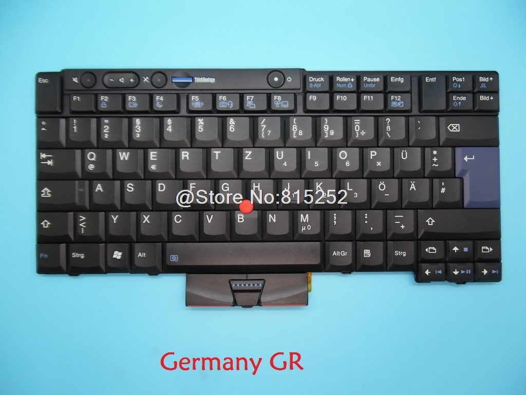 Keyboard For Lenovo For Thinkpad T400S X220 X220I T510I T520I T510 T520 W510 W520 SP Germany GR English US Japanese JP FR LA