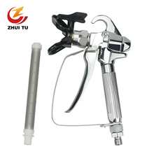 Brand New 3600PSI High Pressure Airless Paint Spray Gun With 517 Tip Nozzle Guard Wagner Pump And Spraying