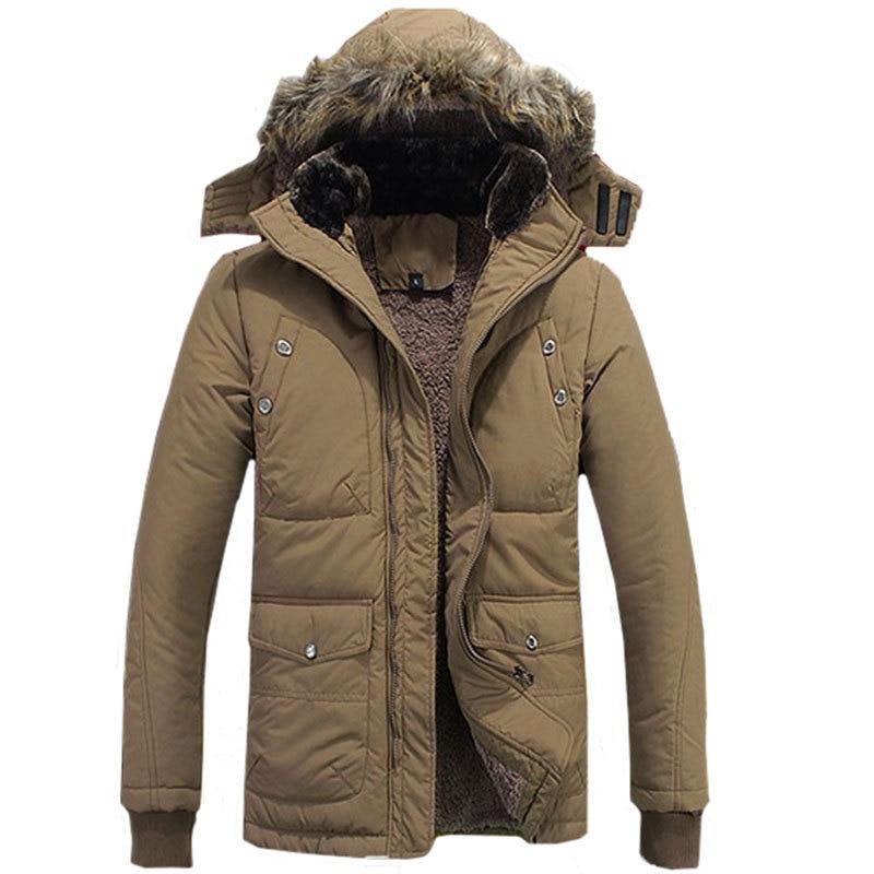 2016 zimska jakna za muškarce plus veličina M-4XL topla debela runo - Muška odjeća - Foto 2