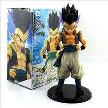 Dragon Ball Z Gotenks Standing Style Action Figure DBZ Goten Trunks Fusion Goku Super Saiyan Collection Model Toys 19cm