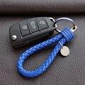 ИСКУССТВЕННАЯ Кожа Строка стайлинга Автомобилей Key chain Брелок для VW Volkswagen audi Ford Accod Mercedes BMW Opel Автомобиль Для Укладки Key Holder