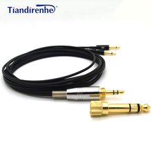 Headphone Cable for Sennheiser HD477 HD497 HD212 pro EH250 EH350 Headset for Audioquest Nightowl 6.35 / 3.5mm to 2.5mm
