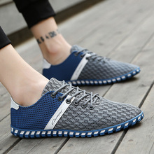 NORTHMARCH 2018 Summer Hot Sale Boat Shoes Men Sneakers Breathable Mesh Men Casual Shoes Krasovki Comfortable Lace-Up Flat Shoes