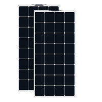 XINPUGUANG 200W solar panel 100w *2 Monocrystalline Cell Flexible pannello solare for Car/Yacht/Steamship 100 Watt Solar Battery