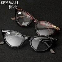 2018 Fashion Cat Eye Reading Glasses Women Reader Eyeglasses Leopard Black Style Old People Vintage Eyeglasses For Reading YJ310