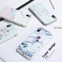 Marble Phone Case For iPhone 5 5s Se X XS Max