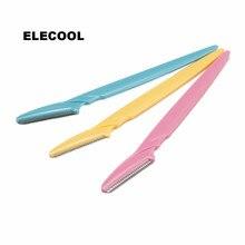 ELECOOL 3 шт./партия триммер для бровей лица бровей волос Бритва для удаления лезвия бритвы Эпилятор Макияж Красота Инструменты для женщин