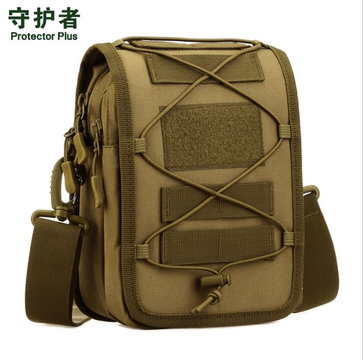 Multi-purpose Shoulder bag Nylon Camo MOLLE Military Tactical Affiliated Outdoor Sports Hiking Camping Multifunction Hanging bag