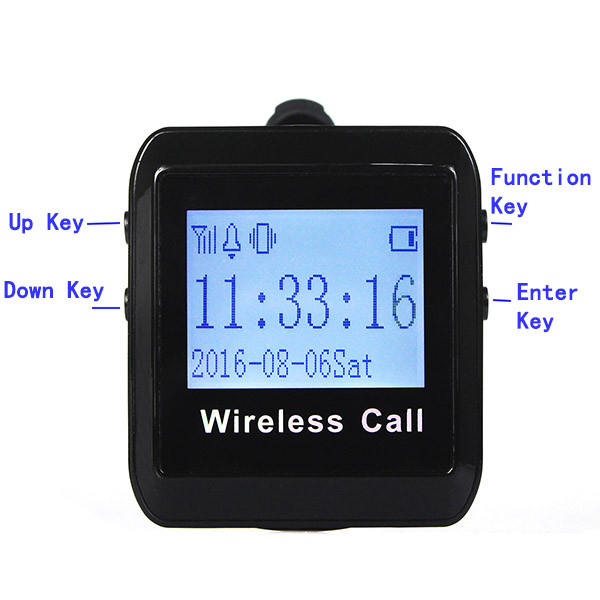 1 Set Wireless Pager Queuing System  (8)
