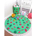 90 CM Baby Crawling Mat Kid Environmental Protection Double Sided Blanket Shatter-resistant Pad Infant Watermelon Play Rug