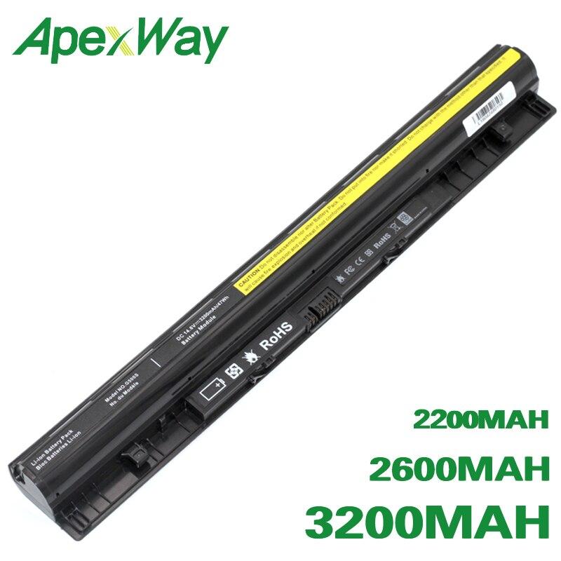 ApexWay G400S Laptop Battery For Lenovo Thinkpad L12L4A02 L12M4A02 L12L4E01 L12S4A02 L12M4E01 L12S4E01 G405s G410s G500s Z710