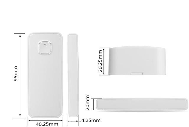 Wifi Door Sensor Window Sensors Alexa Google Home Mini