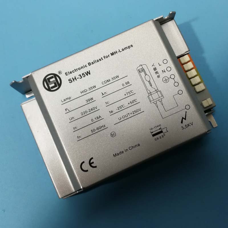 35W, 50W, 70W Electronic Ballast For Repitle UVB Metal Hanlide Bulb