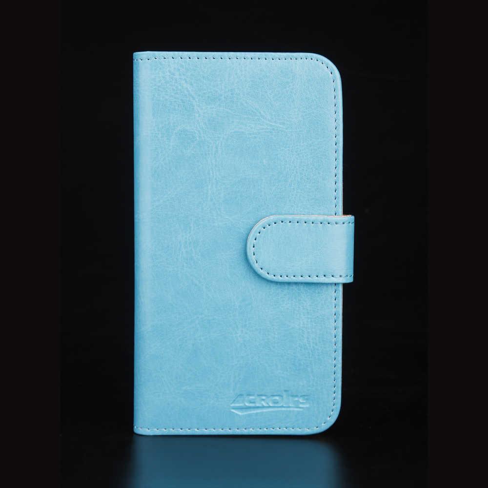 フライパワープラス 5000 ケース 6 色専用レザー独占特別なクレイジー馬電話カバーケースクレジット財布 + 追跡