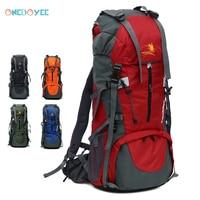 Onedoyee 70 L Hiking Backpack Outdoor Sports Bag Trekking Camping Backpack Large Capacity Waterproof Travel Hiking Rucksack