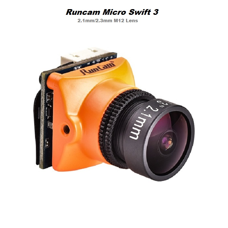 Runcam Micro Swift 3 FPV системы камера 600TVL 2,1/1/3 мм объектив 2,3 SONY Super HAD II CCD OSD NTSC PAL для RC Multicopter Drone