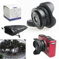 "8mm f/3.8 C mount 4/3"" Fisheye CCTV camera Lens for Micro 4/3 MFT M4/3 E-PL7 M1 GH4 C-M3/4 camera"