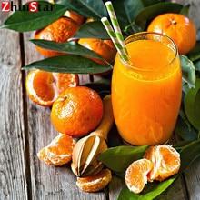 5D DIY Алмазная вышивка, вышивка крестиком, фрукты, апельсин, фрукты, стразы, мозаика, домашний декор, подарок XY1