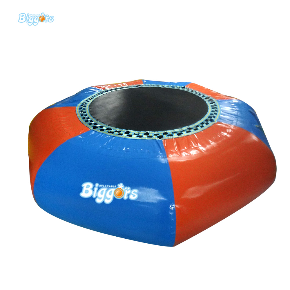 15 FT Inflatable Water Sport Game Floating Water Trampoline Game With Air Pump lake or ocean inflatable funny water sports game water trampoline with air pump and repair kit