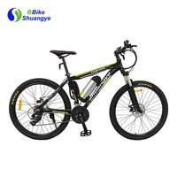 Алюминий сплав рама 36 в 250 Вт Мотор 26 дюймов горный электрический велосипед