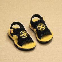LUBIBEIBEI Meninos Sandálias de Verão Crianças Sandálias Da Moda Elasticidade Respirável Sapatos Meninas Sapatos de bebê Sandálias Sandalia Infantil Crianças KS101